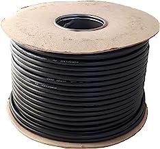 Ronde zwarte 2, 3 ader flexibele kabel 0.75 mm, 1.0 mm, 1.5 mm 3182Y 3183Y volledige rol en aangepaste gesneden lengtes be...