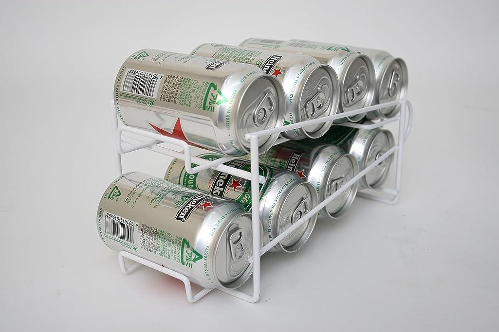 先史時代の航空洞察力のある8缶収納コロコロ缶ラック