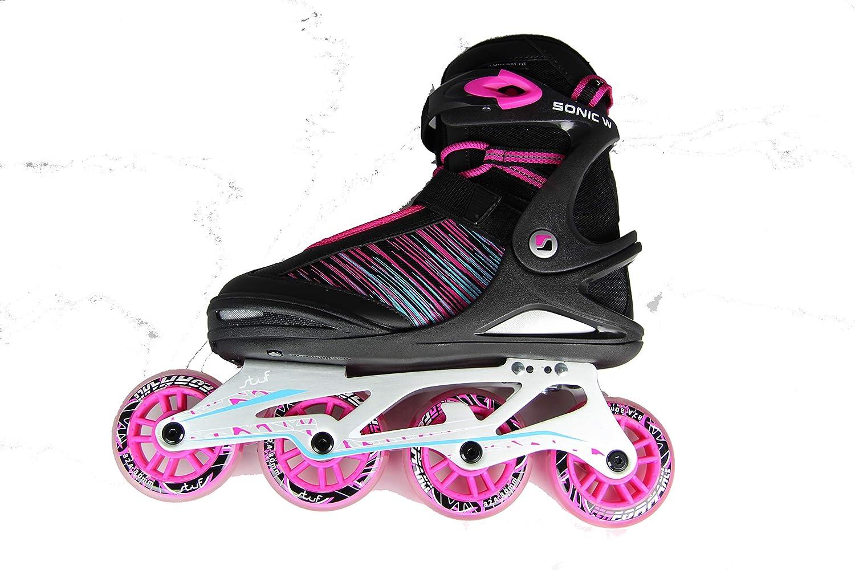 SPORT 2000 Deutschland GmbH 1023847 2588 - SONIC W ALU ALU ALU 80 Inline Skater,schwar 38 B07PHXZ14S  Hohe Sicherheit d0e40b