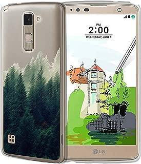 Untouchble Case for LG Stylus 2 Plus Case   LG Stylo 2 Plus K530 Flexible Case [Flex Max] Slim Flexible Gel Case Bump and Drop Protection - Foggy Forest