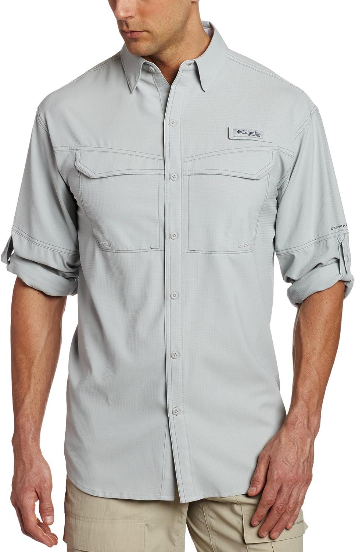 Columbia favorite Men's Low Drag Offshore X Cool Shirt shop Grey Long-Sleeve