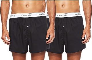 Calvin Klein Men's Boxer Slim 2 Pack Boxer Short