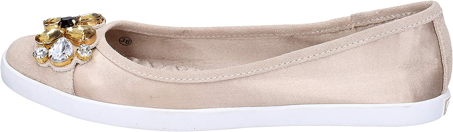 Liu Jo Flats-shoes Womens Beige