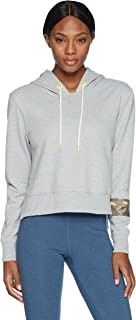 Sam Edelman Women's Cropped Hoodie with Sequin Band
