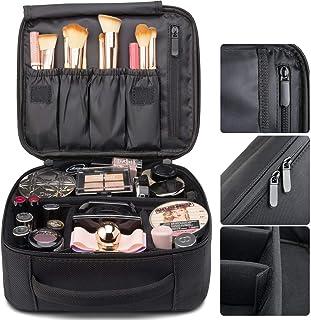 (スーパープラス)プロ用 メイクボックス 高品質 多機能 多容量 メイクブラシバッグ 収納ケース スーツケース?トラベルバッグ 化粧 バッグ メイクブラシ 化粧道具 小物入れ