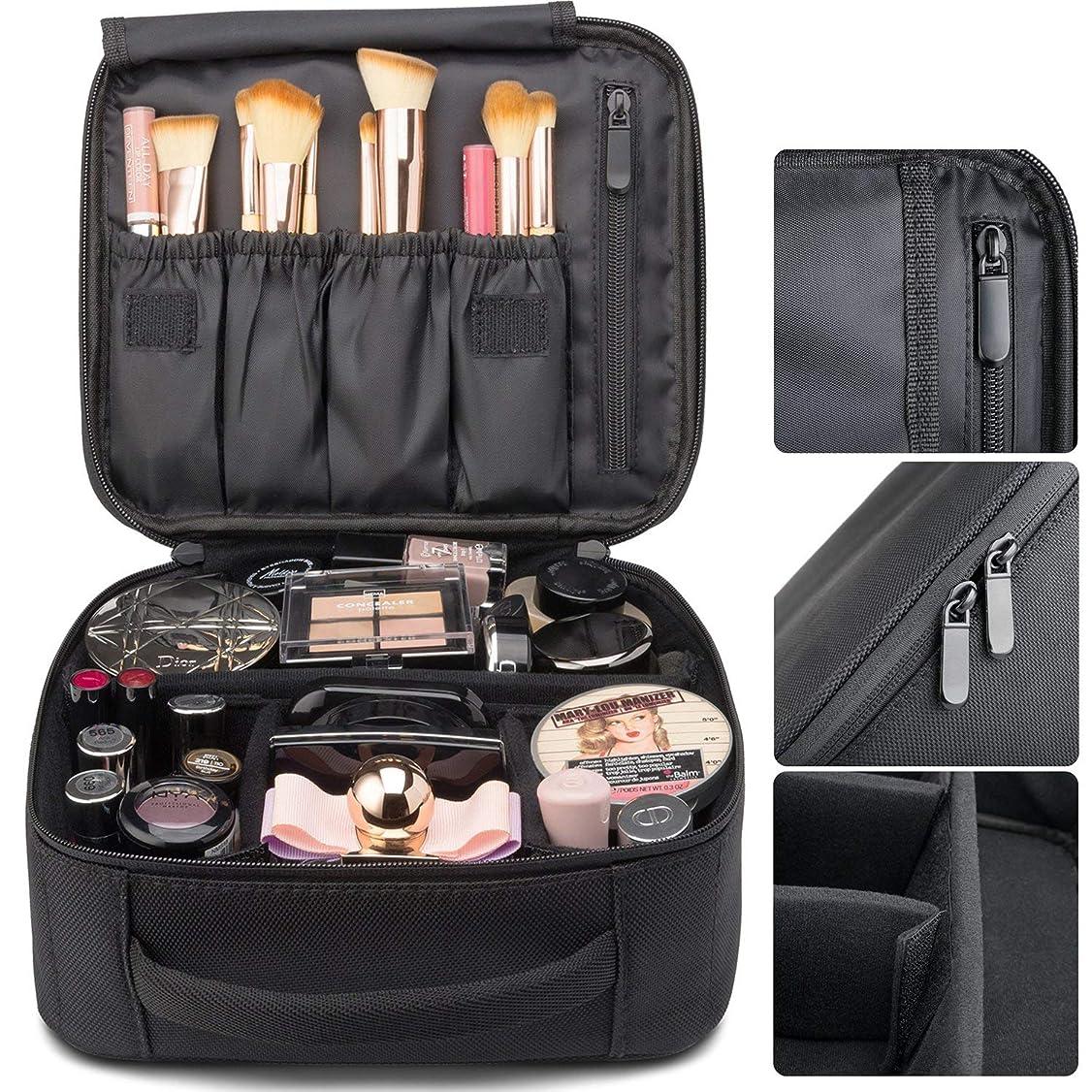 一節相談数学的な(スーパープラス)プロ用 メイクボックス 高品質 多機能 多容量 メイクブラシバッグ 収納ケース スーツケース?トラベルバッグ 化粧 バッグ メイクブラシ 化粧道具 小物入れ