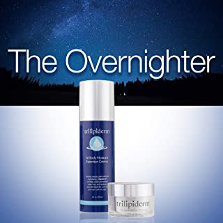 Trilipiderm Night Hydration 8oz/1.7oz – The Overnighter Penetrating Moisturizing – Cream for Body and Face (Night Crème and All-Body Moisturizer)