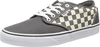 Men's Shoes Atwood Checkers Gray-Natural Sneakers