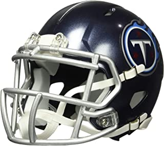 Riddell NFL Tennessee Titans Unisex Replica Mini Speed Styletennessee Titans Helmet Replica Mini Speed Style 2018, Team Colors, One Size