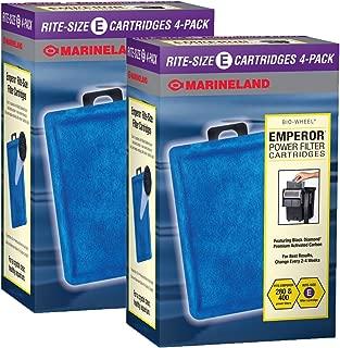 Marineland Rite-Size Cartridge Refills,2 packs of 4