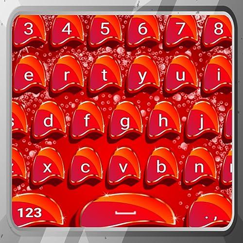 Teclados de color rojo