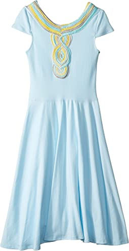 fiveloaves twofish Casablanca Skater Dress (Big Kids)