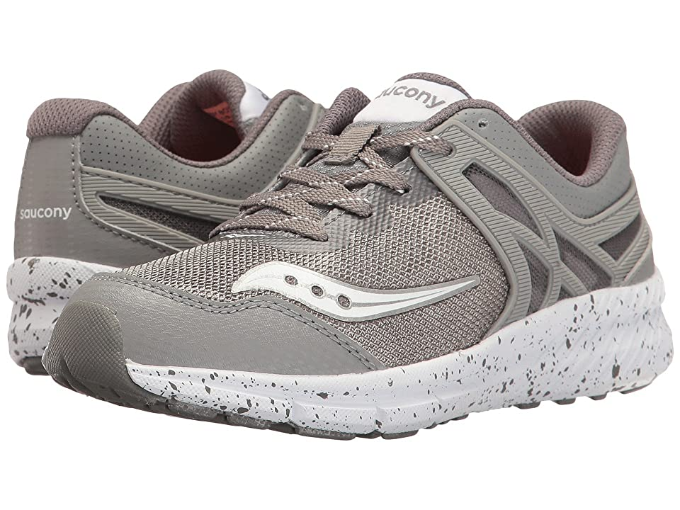 Saucony Kids Velocity (Little Kid) (Grey) Boys Shoes