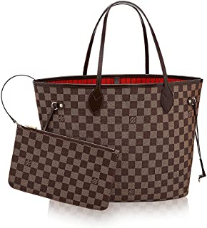 LOUIS VUITTON Damier Ebene Canvas Neverfull MM . 7a3d5cb6233a0