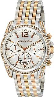 Michael Kors Womens Quartz Watch, Analog Display and Stainless Steel Strap MK5888