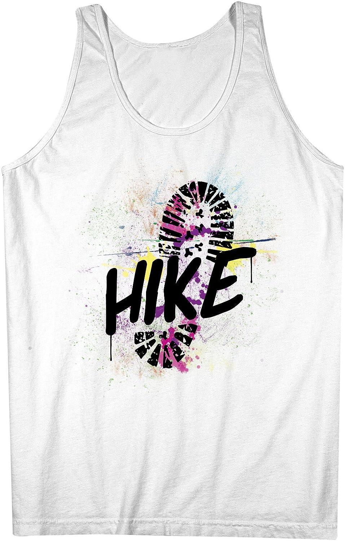 Hike Travel Traveler Explorer 男性用 Tank Top Sleeveless Shirt