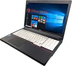 【Microsoft Office 2016搭載】【Win 10搭載】富士通 A574/H/第四世代Core i5-4300M 2.6GHz/新品メモリー:8GB/新品SSD:240GB/DVDスーパーマルチ/10キー/Bluetooth/HDMI/USB 3.0/大画面15.6インチ液晶/無線LAN搭載/外付けハードディスク:250GB無料進呈/中古ノートパソコン (新品SSD:240GB)