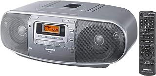 Panasonic RX-D50 Portable CD Radio Cassette Player Recorder, Silver