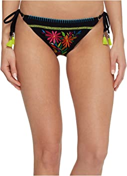 Nanette Lepore - Isla Marietas Vamp Tie Side Hipster Bikini Bottom