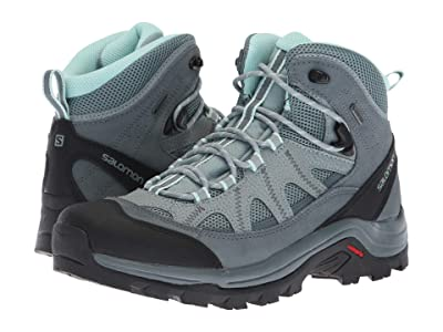 Salomon Authentic LTR GTX (Lead/Stormy Weather/Eggshell Blue) Women