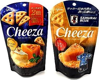 【アソート】「江崎グリコ 生チーズのチーザ カマンベールチーズ仕立て 40g」+「江崎グリコ 生チーズのチーザ チェダーチーズ 40g」 各1個 計2個 【食べ比べ・お試し・セット品・まとめ買い】