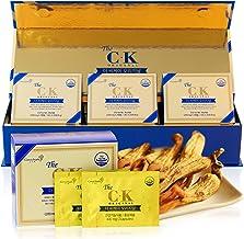 BTGin Korean Fermented Red Ginseng Extract Capsules 8g x3 - The CK Original / Novel Ginsenoside CompoundK Supplement for E...