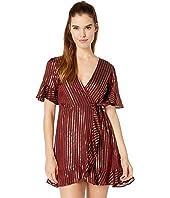 Leslie Mini Wrap Dress