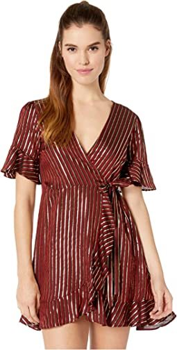 Leslie Mini Wrap Dress
