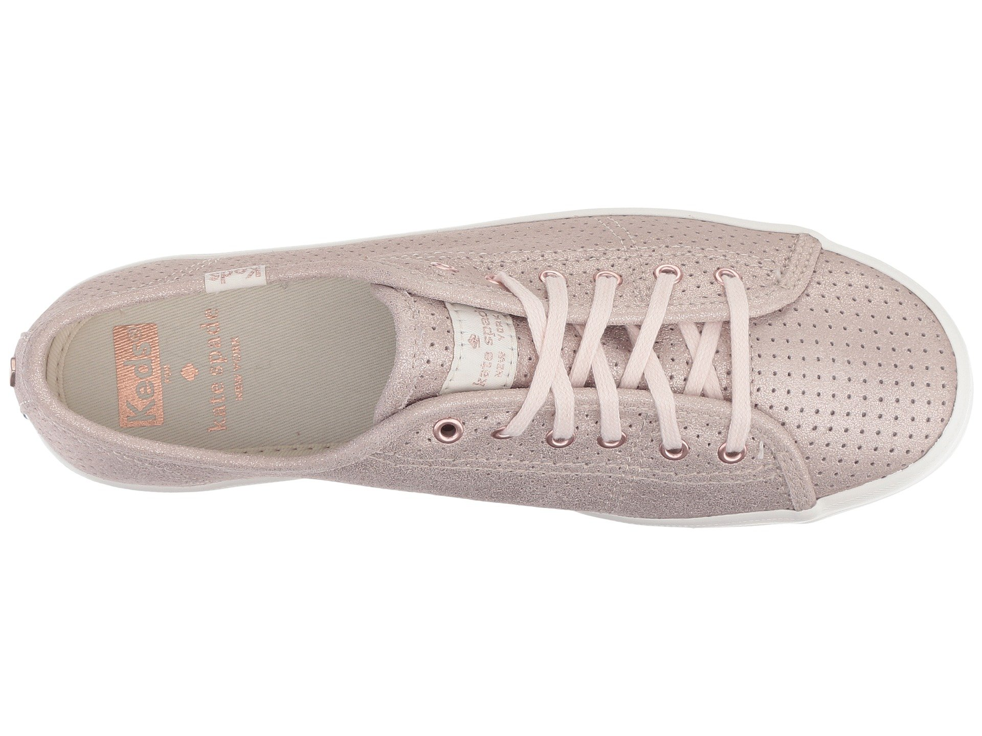 dadd1ee68e6 Keds x kate spade new york Kickstart Perforated Shimmer at Luxury.Zappos.com