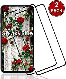 POOPHUNS Protector de Pantalla de Vidrio para Samsung Galaxy S10e,[2 Pack] Cristal Templado Premium para Galaxy S10e,9H Dureza Resistentes a los Golpes, Huellas Dactilares Libre