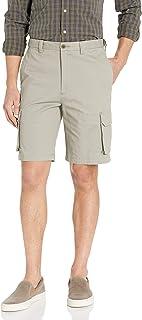 Men's Stretch Comfort Cargo Flat Front Short