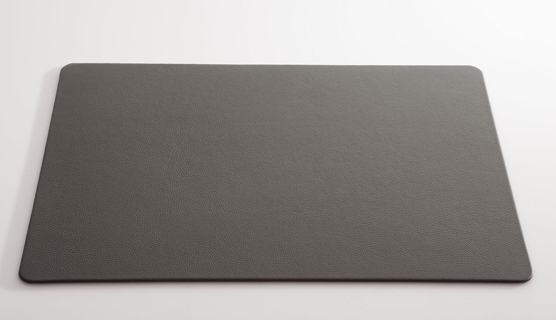 C. Matthey Schreibunterlage aus feinem italienischen Rindleder 40 x 56 cm, 0,5 cm dick, mit abgerundeten Ecken, Farbe  elefante - Handmade in Germany B01M73L94V   | Beliebte Empfehlung