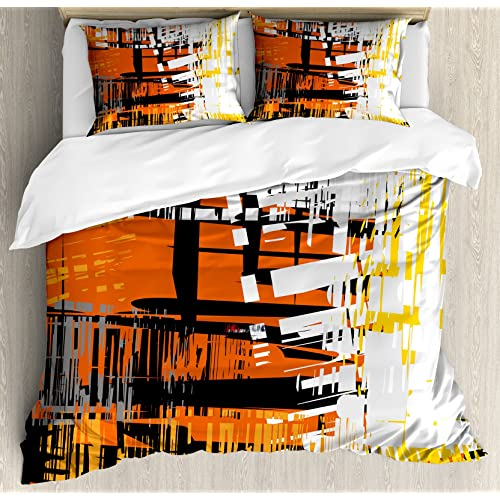 09908245fa4 Lunarable Abstract Duvet Cover Set Queen Size