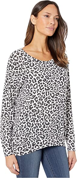 White Bold Leopard