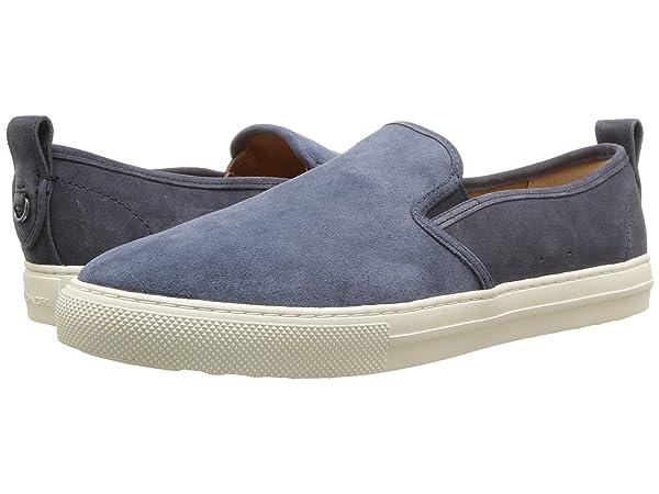 COACH Suede C115 Slip-On Sneaker Dusk Midnight Navy