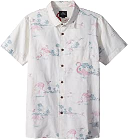 Rip Curl Kids Bocas Short Sleeve Shirt (Big Kids)