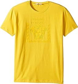 Versace Kids - Short Sleeve Medusa Logo T-Shirt (Big Kids)