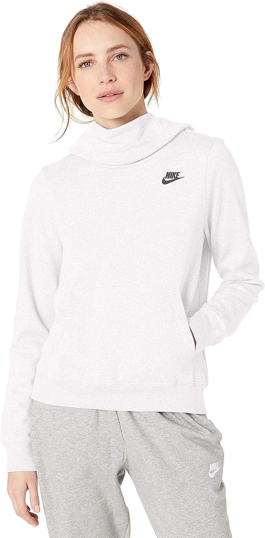 Nike Women's NSW Fleece Hoodie Varsity : Clothing, Shoes & Jewelry