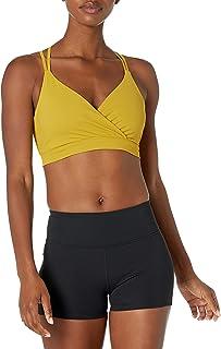 Core 10 Spectrum Studio - Brasier Deportivo para Yoga, Espalda de Tiras, Apoyo Suave Sujetador Deportivo para Mujer