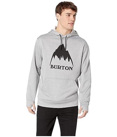 Burton Oak Pullover Hoodie (Monument Heather) Men