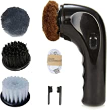 Electric Hand Held Shoe Polisher Black Shoe Boot Polish Shoe Shine Kit Shoe Buffer..