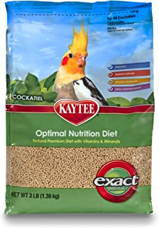 Kaytee Exact Optimal Nutrition Diet for Cockatiels