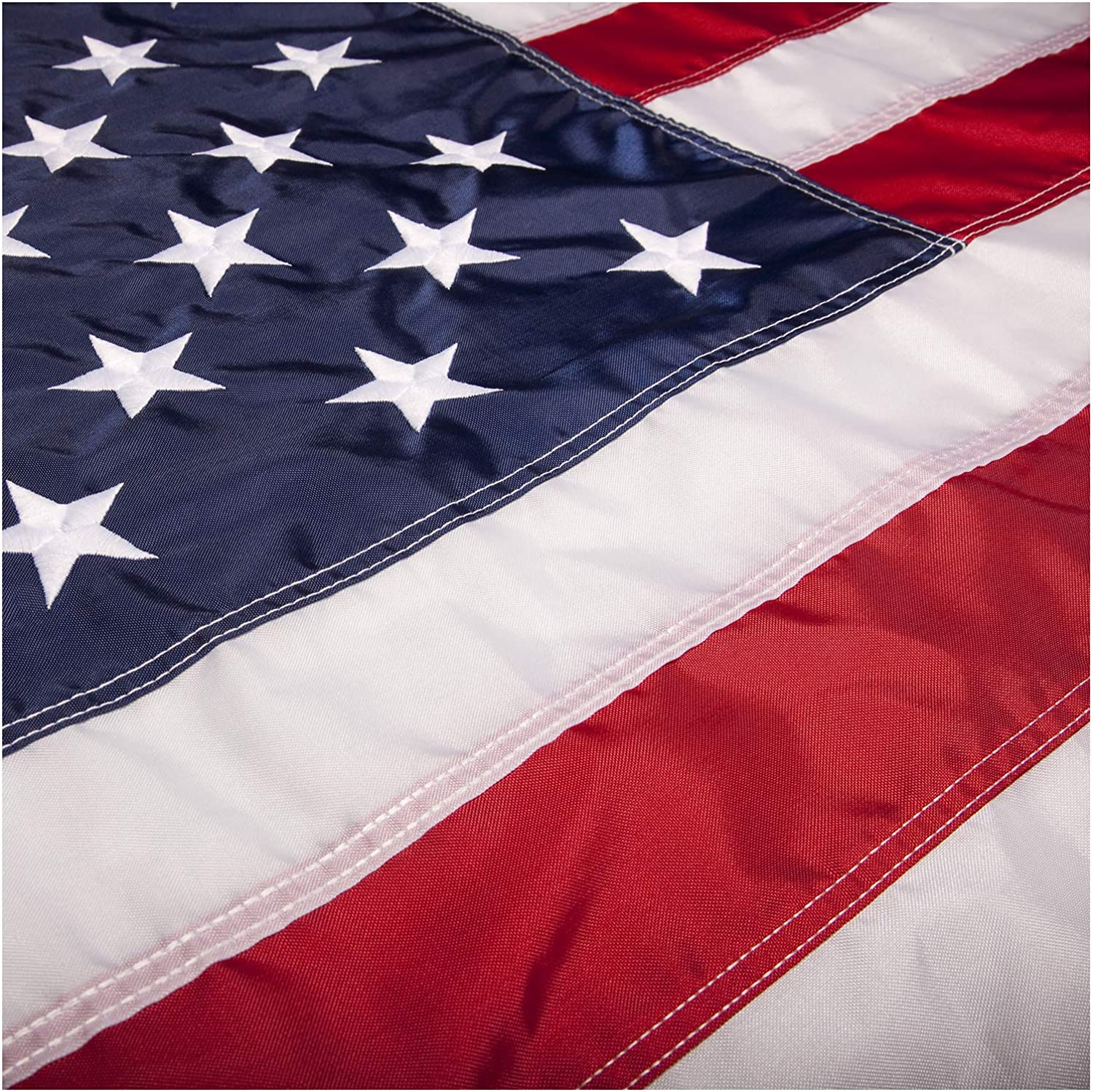 Selling rankings PFC - American Flag: 3x5 ft Stars US Flags Sewn Embroidered Spring new work