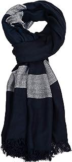 Aimee Unisex Bluish Viscose Scarf for Men & Women