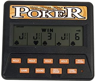 John N. Hansen Classic 5-in-1 Poker Electronic Games