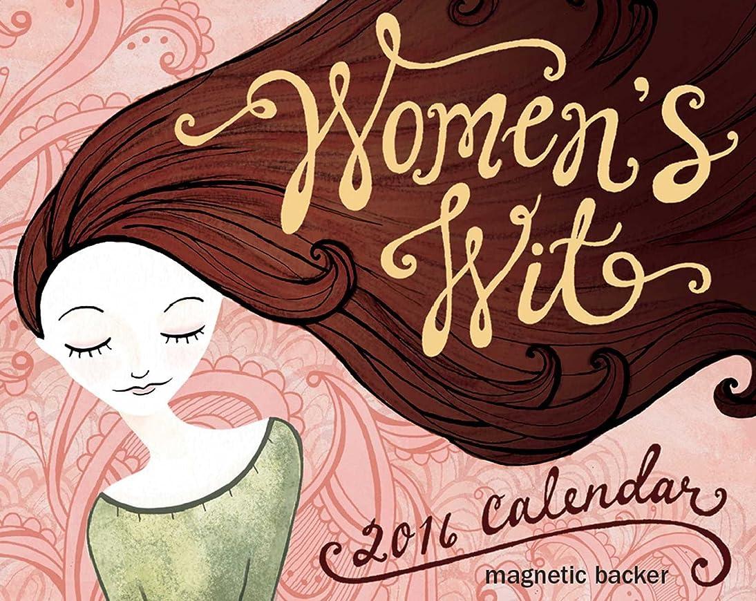 ハンサムお気に入りスパイラルWomen's Wit 2016 Mini Day-to-Day Calendar
