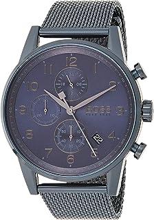 Hugo BOSS Reloj Cronógrafo para Hombre de Cuarzo con Correa en Acero Inoxidable 1513538