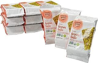 Wickedly Prime Organic Roasted Seaweed Snacks, Korean Kalbi, 0.17 Ounce (Pack of 12)