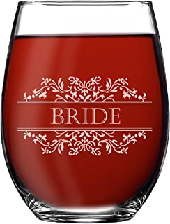 etched glass wedding favors