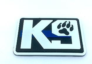K9delgada línea azul Policía Perro para Airsoft y Paintball PVC parche de moral